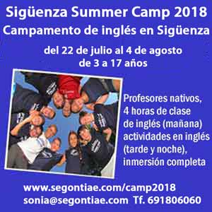 Sigüenza Summer Camp